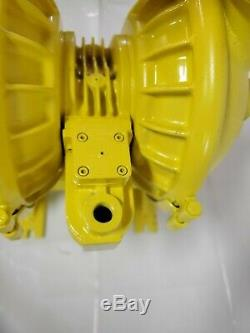 Versa-Matic V Series Clamped Metallic, 2 Air Operated Double Diaphragm Pump