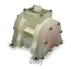 WARREN-RUPP WR10PP6XPP9. Double Diaphragm Pump, Air Operated, 175F