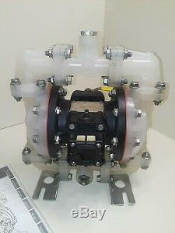 Warren Rupp Sandpiper Air Polypropylene Double Diaphragm Pump S05B2P1TPNS000