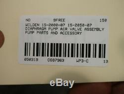 Wilden 15-2050-07 Diaphragm Pump Air Valve Assembly