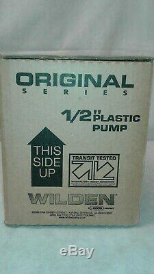 Wilden Dover 1/2 Air Operated Double Diaphragm Pump P1/pppp/tf/tf/ktv / 01-2654