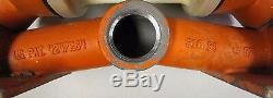 Wilden M2 3/4 X 1 316 S/s Stainless Flow Polypropylene Air Diaphragm Pump