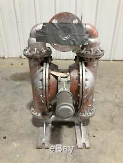Wilden M8 2 316 Stainless Steel Air-Operated Double Diaphragm Pump