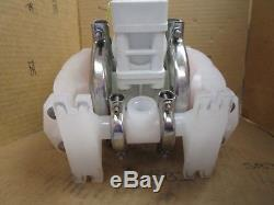 Wilden P1 Air Operated 1/2 poly diaphragm Pump P1/PPPP/WF/WF/KWF New