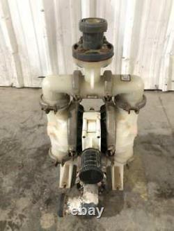 Wilson Polypropylene Air Operated Double Diaphragm Pump 125PSIG