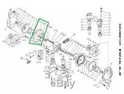 Yamada 710276 Metal Air Chamber, For Model 25 25BA 25BS 25BF Diaphragm Air Pump