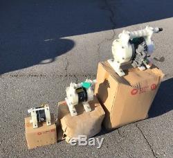 Yamada NDP-15FPS 1/2 Yamada Air-Operated Diaphragm Pump NDP-15FPS 100 PSI