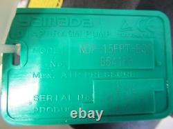 Yamada NDP-15FPT-ECO 1/2 Diaphragm Pump NDP-15FPT 100 PSI Max Air Pressure