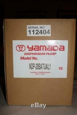 Yamada NDP-20BAT-UL Air Operated Double Diaphragm Pump NEW