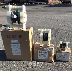 Yamada NDP-5FPT 1/4 Yamada Air-Operated Diaphragm Pump New In Box