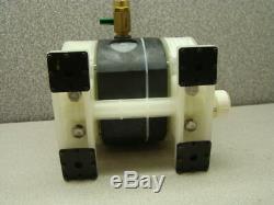 Yamada NDP-5FPT Diaphragm Pump with Onda Valve, PN 851562, 100PSI Max Air
