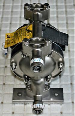 Yamada Ndp-15bst Stainless Steel Air Driven Diaphragm Fluid Pump 2014
