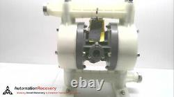 Yamada Ndp-20bpn-pp Air Operated Double Diaphragm Pump 854095 #281239