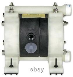 Yamada Ndp-5fpt 1/4 Diaphragm Air Pump 100psi 180 Deg New