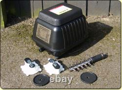 Yamitsu Hi-Flow Professional Pond Air Pump Airpump Hydrophonics(koi, filter)